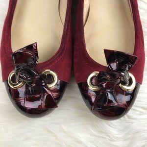 St. John Shoes - St. John Scarlett Suede Flats